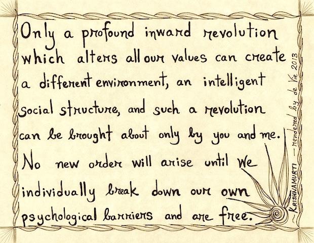 the revolution of presence
