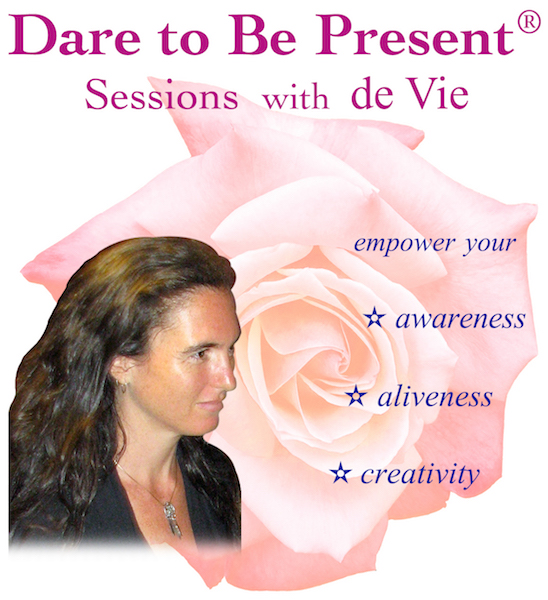 Dare to Be Present® card; sessions with de Vie